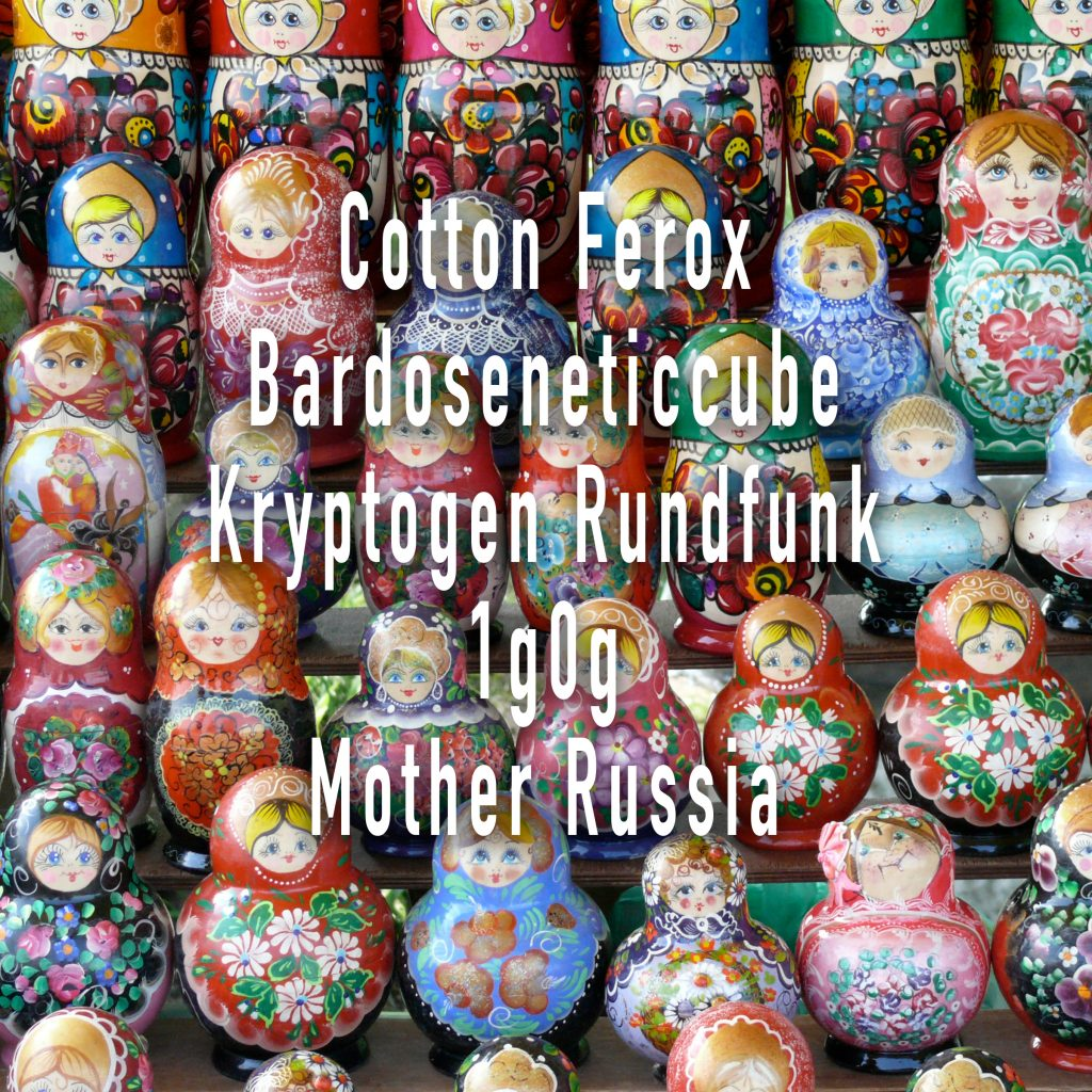 Cotton Ferox / 1g0g Mother Russia